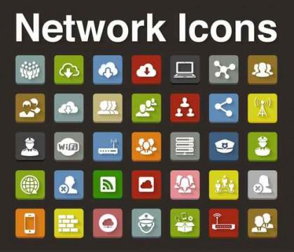 Service icons set
